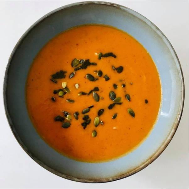 Geroosterde Paprika Venkel soep